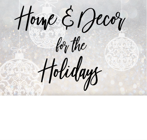 Home & decor for the holidays. Click to shop now.